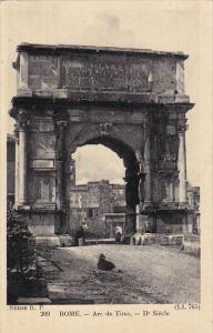 Italy Roma Rome Arc de Titus
