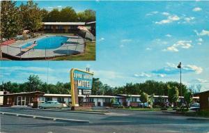 Carlsbad New Mexico~Pritchett's Royal Manor Motel~South Canal Street~1958~Cars