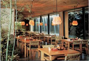 Japanese Restaurant Kamogawa Kyoto Japan Unused Postcard F6