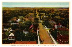 N.B.  Moncton Aerial view of St. George Street