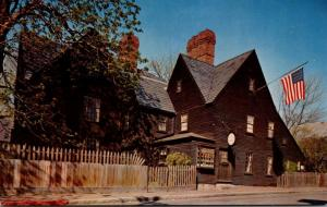 Massachusetts Salem House Of The Seven Gables