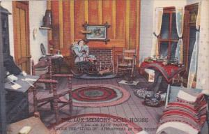 Minnesota St Paul Lux Memory Doll House The Back Parlor Curteich