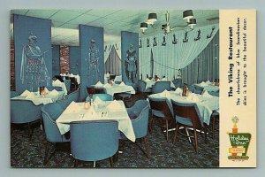Viking Restaurant, Holiday Inn, West Memphis, Arkansas Postcard