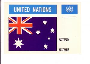 Australia Flag, United Nations