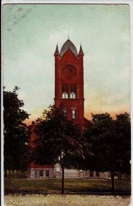 1911 LOCK HAVEN Pennsylvania Pa Postcard STATE NORMAL SCHOOL Model CLinton Co
