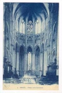 MEAUX. France , 00-10s Choeur de la Cathedrale