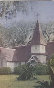 ST. SIMON'S ISLAND, Georgia , 1953 ; Christ Church at Frederica