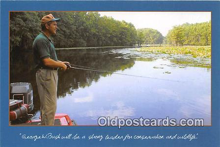 Sportsman Postcard Governor Bush