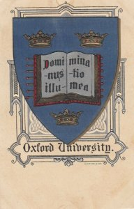 OXFORD University , England , 1900-10s ; Coat of Arms