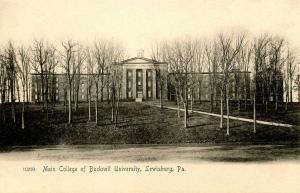 PA - Lewisburg. Main College of Bucknell University