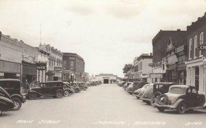 RP: SYRACUSE , Nebraska , 1930-40s ; Main Street