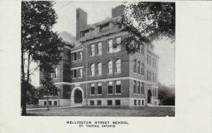 Wellington Street School, St. Thomas, Ontario, Canada, 10-20s