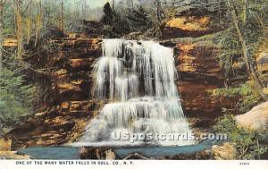 One of many Water Falls Misc. Sullivan County NY Unused