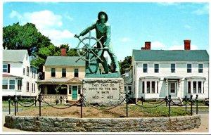 Massachusetts Gloucester Fisherman's Memorial Statue