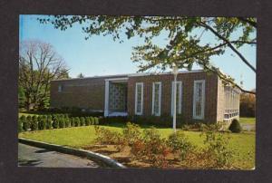 MA Cardinal Spellman Museum WESTON MASS Massachusetts Postcard REGIS COLLEGE