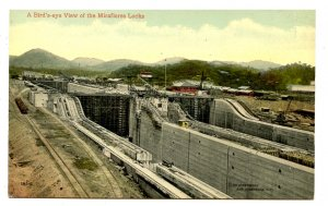 Panama - Canal Zone. Miraflores Locks