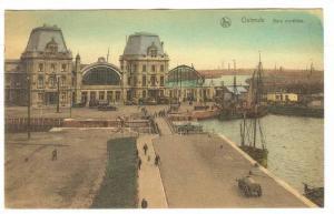 Sailboats/Boats, Gare Maritime, Ostende (West Flanders), Belgium, 1900-1910s