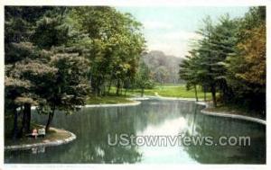 Mirror Lake, Forest Park Springfield MA Unused