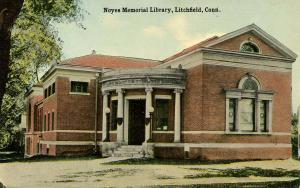 CT - Litchfield.  Noyes Memorial Library