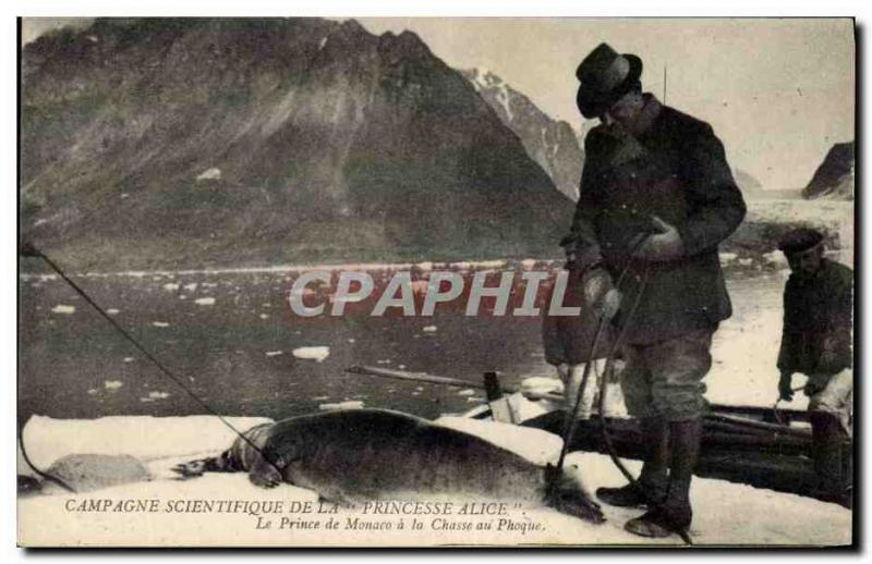 VINTAGE POSTCARD scientific Fishing Countryside of the Princ