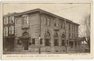 Schuylkill Haven Bank Schuylkill Haven PA 1917