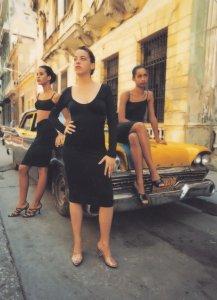 Sisley Diary La Habana Can Drive You Crazy 1996 Advertising Postcard