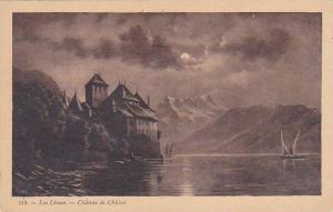 Schweiz Lac Leman Chateau de Chillon