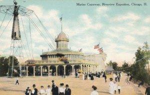 CHICAGO, Illinois, 1900-10s ; Riverview Exposition, Marine Causeway