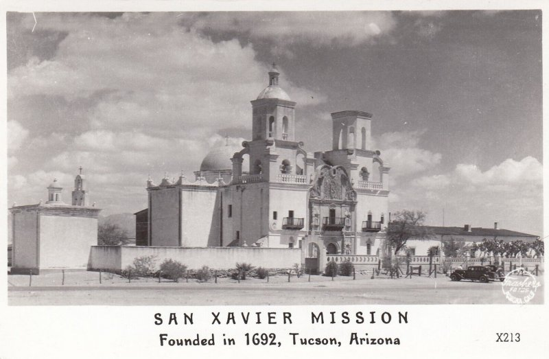 RP; TUCSON, Arizona, 1930-1950's; San Xavier Mission Founded In 1692