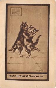 Waltz me around again willie Cat 1909 Missing Stamp