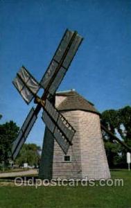 Windmill at Orleans, Cape Cod, Massachusetts, USA Windmills Postcard Post Car...