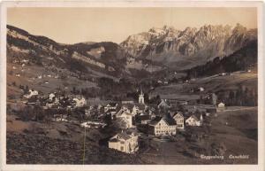 TOGGENBERG ENNETBUHL SWITZERLAND~PHOTO POSTCARD 1931