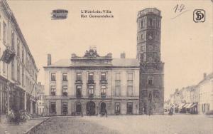 MENIN , Belgium , L'Hotel-de-Ville , 1910s