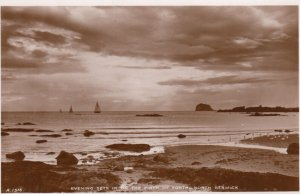 RP: North Berwick, Scotland , UK, 20-30s ; Evening , Firth of Forth