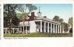 LP65 Mount Vernon Virginia Postcard Washington's Home Copper Windows