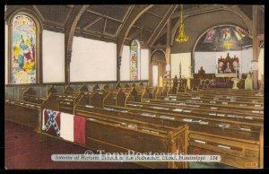 Interior of Historic Church of the Redeemer, Biloxi