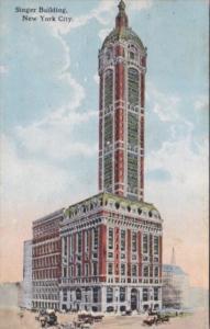 New York City Singer Building 1914