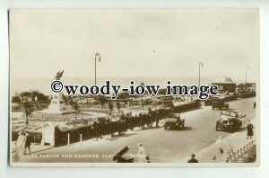 tp8840 - Essex - Early View of Kings Parade & Gardens , Clacton-on-Sea- Postcard