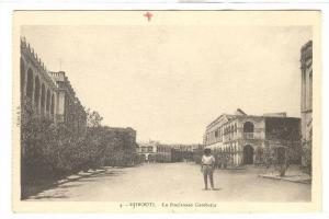 Le Boulevard Gambetta, Dj ibouti, Africa, 1900-1910s