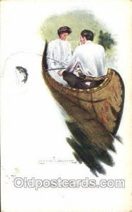 Artist Signed Clarence Underwood Tuck Series No.2822 1909 light corner wear, ...