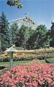 H72/ Denver Colorado Postcard Chrome Elitch Gardens Roller Coaster 226