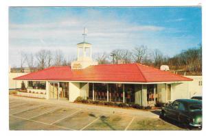 HOJO Howard Johnson Restaurant Iconic Roadside DinerTichnor Vintage Postcard