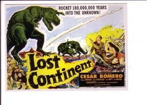 Lost Continent, Cesar Romero Movie