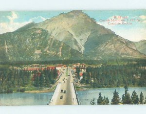 Divided-back PANORAMIC VIEW Banff Alberta AB AF0736