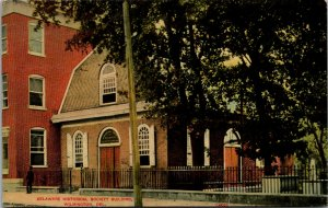 Vtg 1910s Delaware Historical Society Building Wilmington DE Postcard