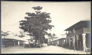 tanzania, TANGA, Unknown Street (1921) Real Photo