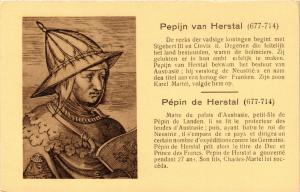 CPA maire du palais d'Austrasie PEPIN de HERSTAL. Militaire (286996)