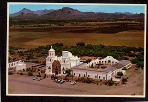 AZ San Xavier Del Bac Spanish Mission Jesuit Priests Tucson Arizona Postcard