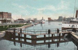 ST. CATHARINES, Ontario, Canada, 1900-10s; Harbour, Port Dalhousie
