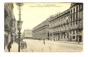 Bordeaux , France, 00-10s ; Le Cours du Chapeau-Rouge et la Prefecture